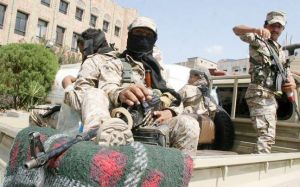 Counter attacks between Yemen extremists and government soldiers kills nearly 70 people