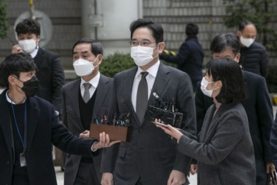 Samsung heir not to appeal jail term