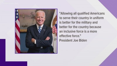 Biden reverses policy ban on Transgender serving Military