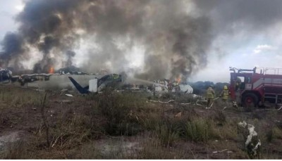 Plane Crash Kills 4 Soccer Players, Club President In Brazil