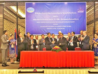 AAI, Lao PDR ink civil aviation cooperation agreement