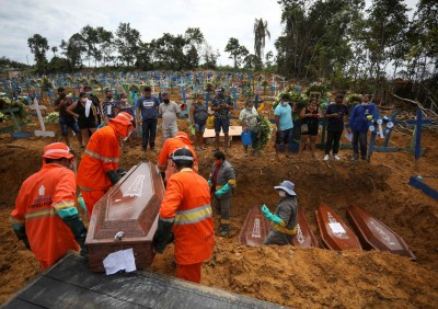 Brazil reports 59,826 new cases, total cases reaches 9,118,513