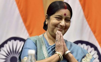 Sushma Swaraj to visit Kathmandu for diplomatic engagement with new Nepal government