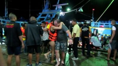 20 people missing after boat sinking in Thailand's Phuket