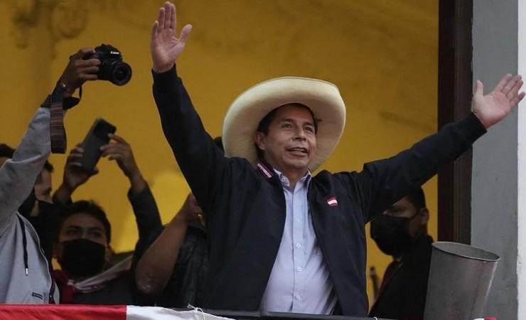 पेड्रो कैस्टिलो राष्ट्रपति-चुनाव के बने विजेता