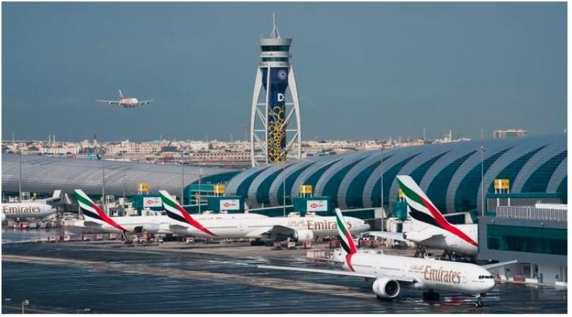 दुबई के मुख्य हवाई अड्डे पर टकराए 2 एयरप्लेन, हुआ ये हाल