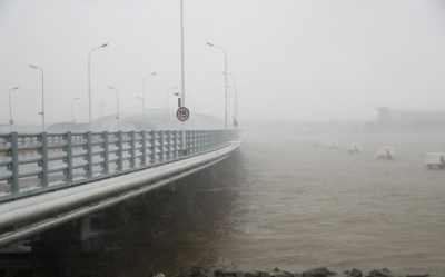 Typhoon Ampil hits Shanghai, Situation is getting worse