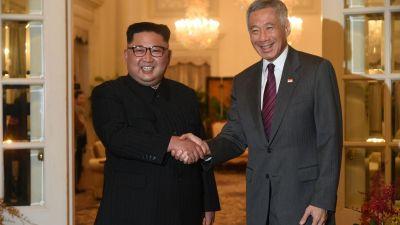 Singaporean PM gives congratulatory letter to Kim Jong-un