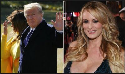 Adult film star Stormy Daniels' lawsuit against US President Donald Trump