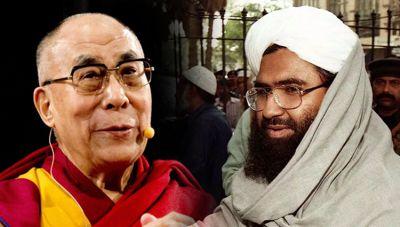 Comparing Dalai Lama with terrorist Masood Azhar triggered a storm on Social Media