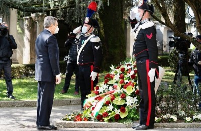 Italy marks first day of remembrance for Covid-19 victims