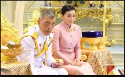 Thailand king get married with his personal guard force deputy head before his coronation