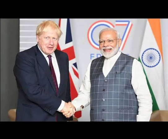 पीएम मोदी आज ब्रिटेन के प्रधानमंत्री जॉनसन के साथ करेंगे आभासी शिखर सम्मेलन की शुरुआत