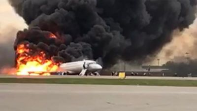 Moscow plane fire: 41 killed on Aeroflot jet