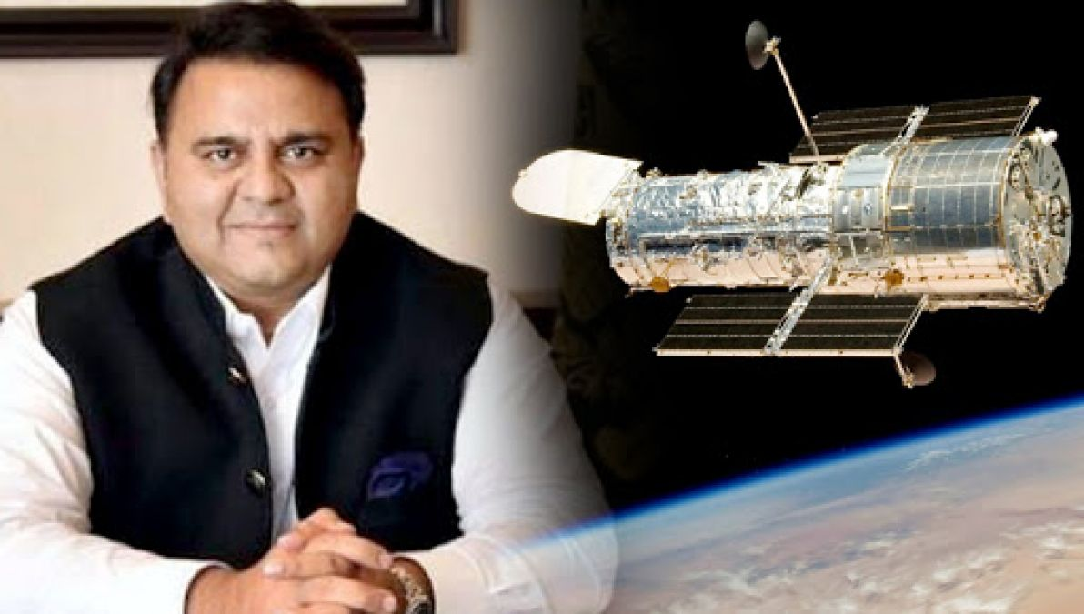 Hilarious! Pak Science Minister claims not NASA but Pakistan sent Hubble To Space