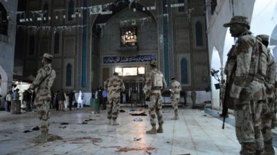 4 killed in a bomb blast near Sufi shrine Data Durbar in Pakistan's Lahore