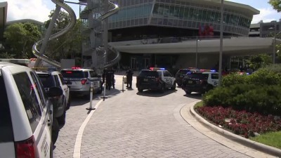 A fight between two groups lead to gunfire at  South Florida shopping mall