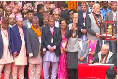PM offers prayer Pashupatinath temple in Kathmandu