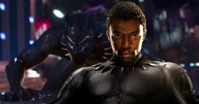Black Panther display at Madame Tussauds in London