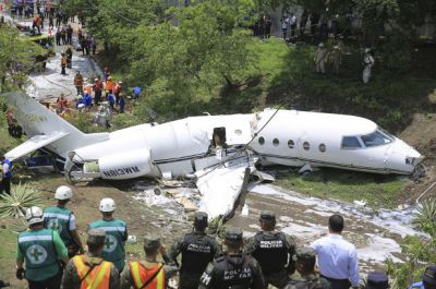 Five died in a plane crash in Honduras