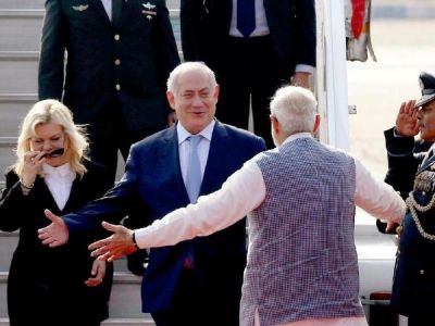 Israeli PM Benjamin Netanyahu wishes Happy Diwali to PM Narendra Modi