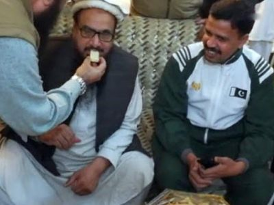 International terrorist Hafiz Saeed walks free from the bars