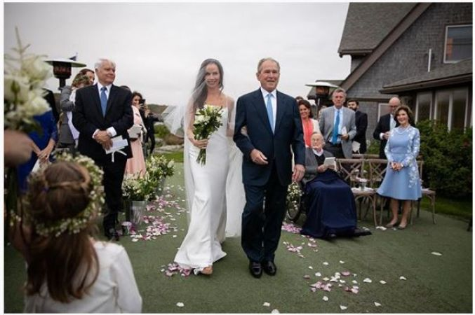 Former US President George W. Bush's daughter Barbara Bush ties knot in secret wedding ceremony