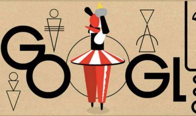 Google dedicates doodle to celebrate Oskar Schlemmer's 130th birthday