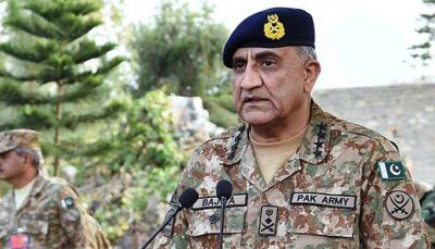 Pakistan  Army Chief Bajwa : I salute people of India occupied Kashmir
