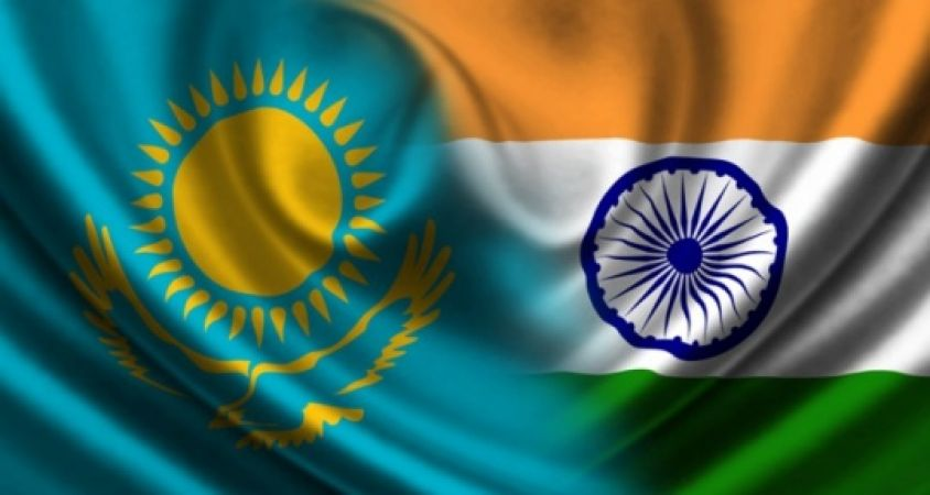 India and Kazakhstan conduct joint military exercise