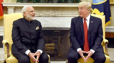 President Donald Trump: India called US, to trade deal for first time
