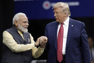 In an amazing tweet, US President Donald Trump wishes a Happy Birthday to PM Modi