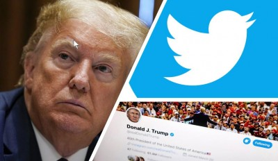 Twitter issues warning label to President Trump