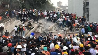 Mexico:Earthquake with strong magnitude shakes the city