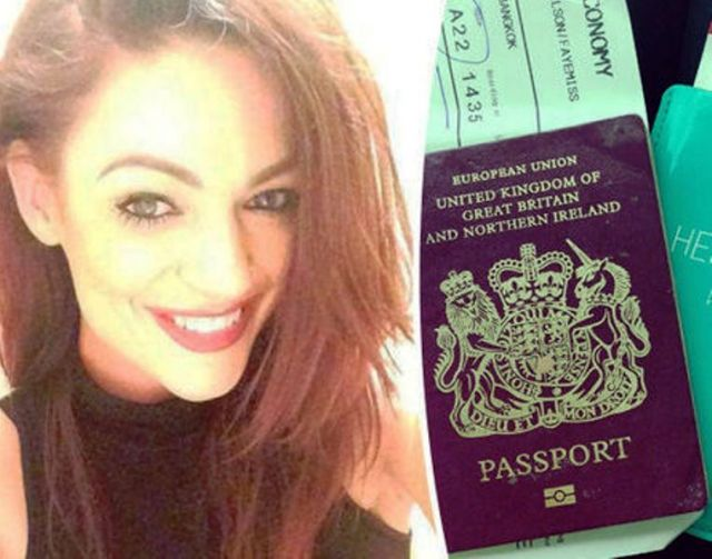 नशें की हालत में महिला ने टिश्यू पेपर के बदले किये पासपोर्ट के पेज यूज