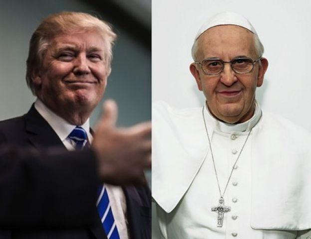 मुझे नहीं लगता कि ट्रंप इसाई है : पोप फ्रांसिस