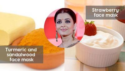 Strawberry and some other fruits face pack gives a radiant glow on your skin
