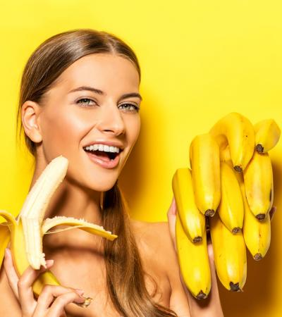 DIY Banana Face Pack leaves your skin smooth and blemishes free