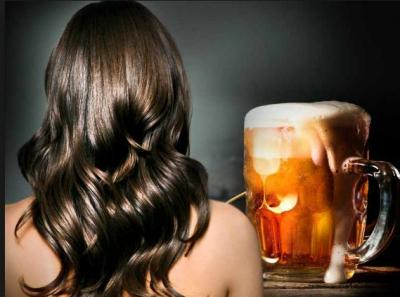 Use beer for hair growth effectively; surely will leave the result