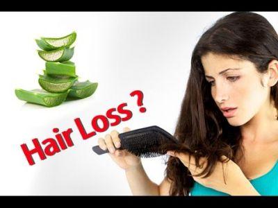 Prevent hair loss with Aloe vera gel