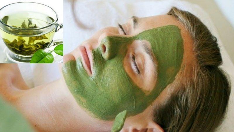 Green tea makes skin and nails beautiful