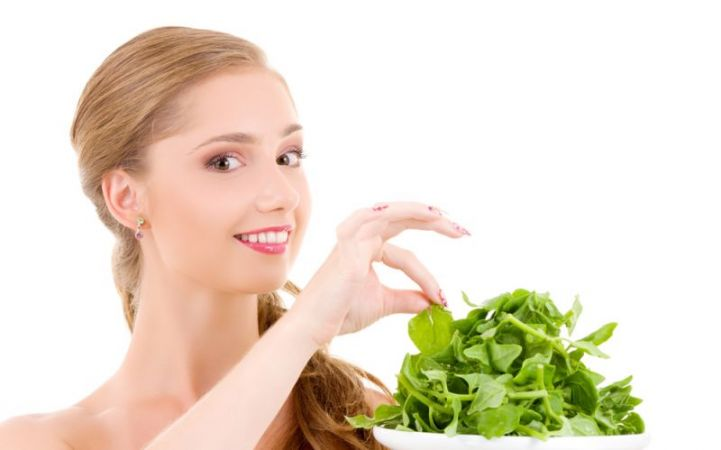 Spinach is beneficial for skin and hair