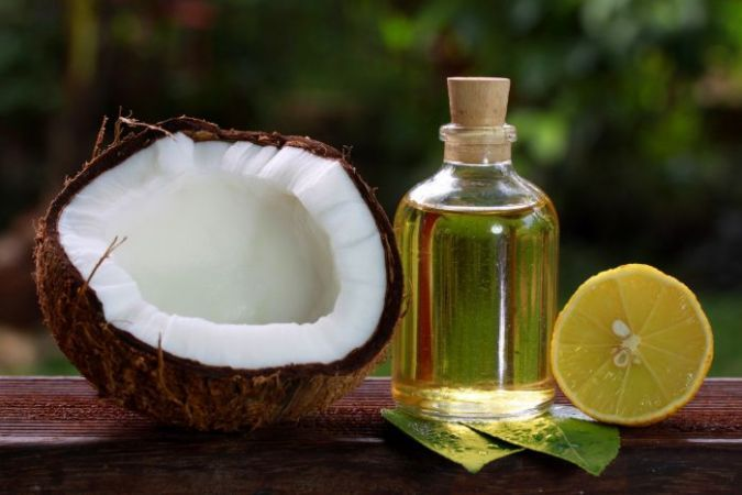 Image result for coconut oil and lemon