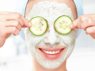 Cucumber face pack will give you glowing and flawless skin