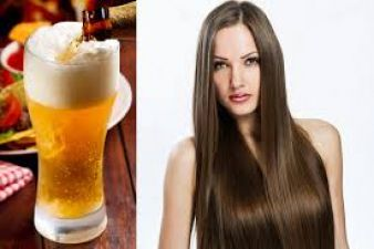 Get shiny strong healthy hair -USE BEER TO HAIR SPA