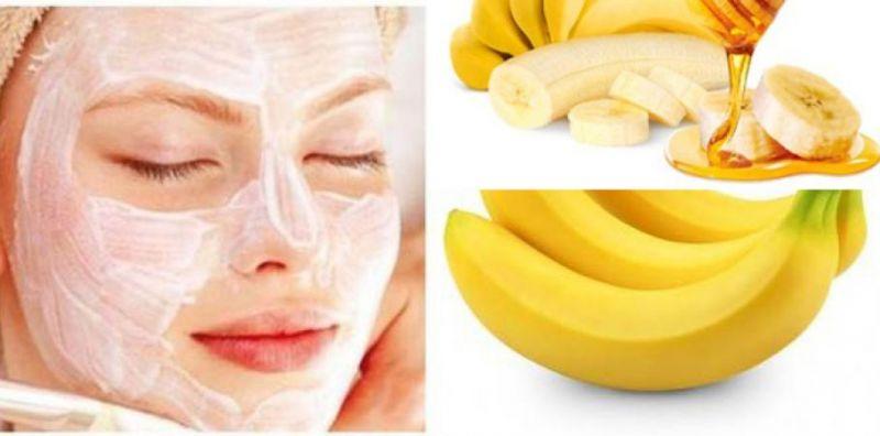 Banana removes dry skin problem