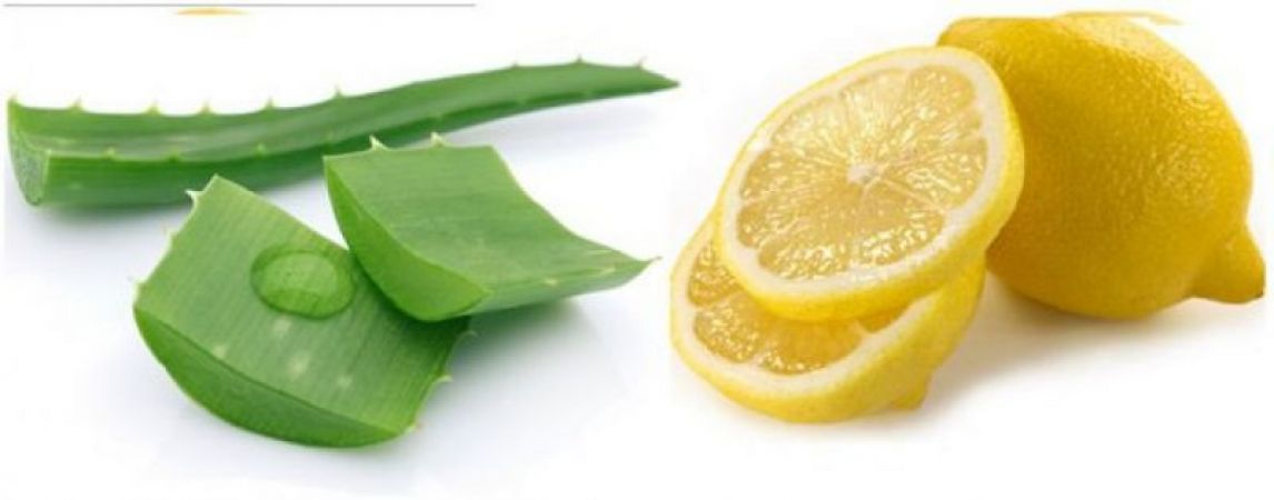 Image result for lemon with aloe vera