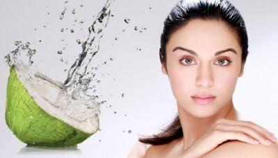 Coconut water, Pinapple juice brings brightness in the skin