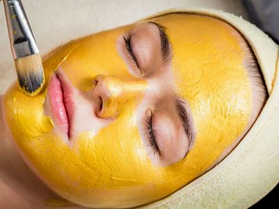 Turmeric removes tanning problem