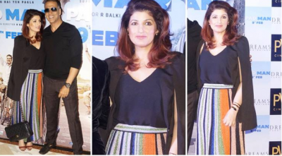 Photo! Twinkle Khanna is in full swing for the promotion of her hubby's movie PadMan